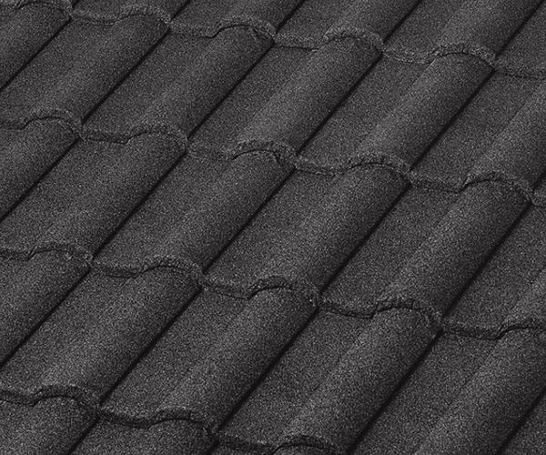 Bob Jahn's Roofing Offers Boral Steel in Barrel Vault - Charcoal