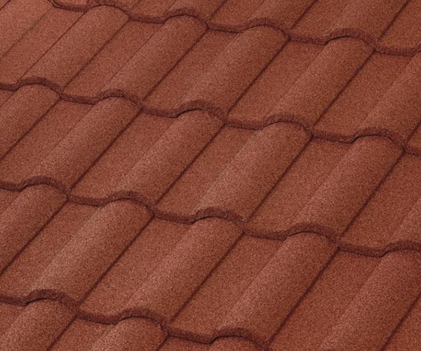 Bob Jahn's Roofing Offers Boral Steel in Barrel Vault - Spanish Red