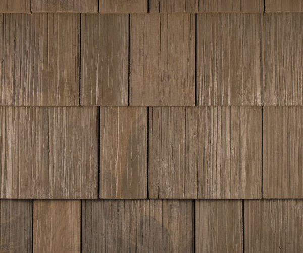Bob Jahn's Offering Residential Roofing Material: Brava Composite - Cedar Shake in Sierra Shake