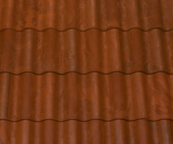 Bob Jahn's Offering Residential Roofing Material: Brava Composite - Spanish Barrel Vault Tile in Antigua