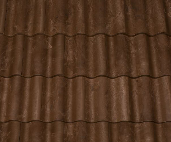 Bob Jahn's Offering Residential Roofing Material: Brava Composite - Spanish Barrel Vault Tile in Brown