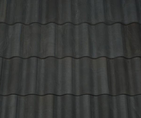 Bob Jahn's Offering Residential Roofing Material: Brava Composite - Spanish Barrel Vault Tile in Gray
