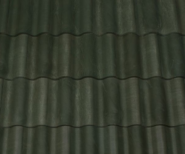 Bob Jahn's Offering Residential Roofing Material: Brava Composite - Spanish Barrel Vault Tile in Green