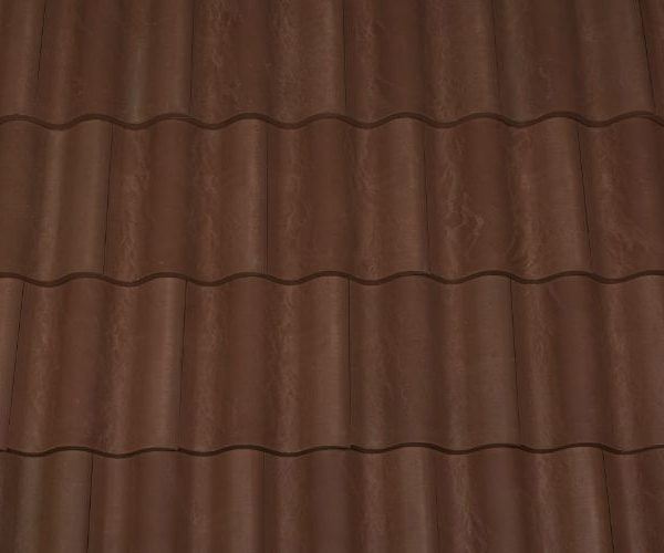 Bob Jahn's Offering Residential Roofing Material: Brava Composite - Spanish Barrel Vault Tile in Mocha