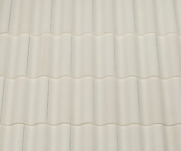 Bob Jahn's Offering Residential Roofing Material: Brava Composite - Spanish Barrel Vault Tile in White