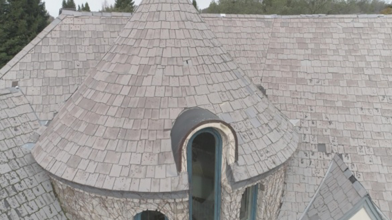 Inspire Aledora Tile in Nottingham Roofing Project in Granite Bay, CA - Bob Jahn's Roofing in Roseville