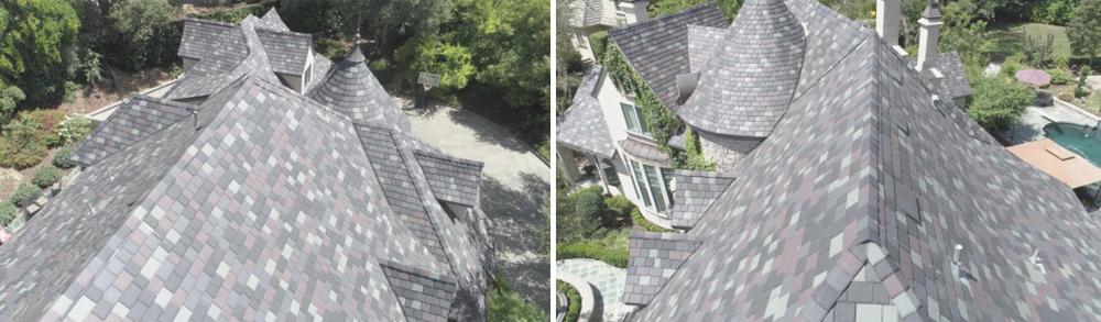 Inspire Aledora Tile in Nottingham Roofing Project in Granite Bay, CA - Bob Jahn's Roofing in Roseville