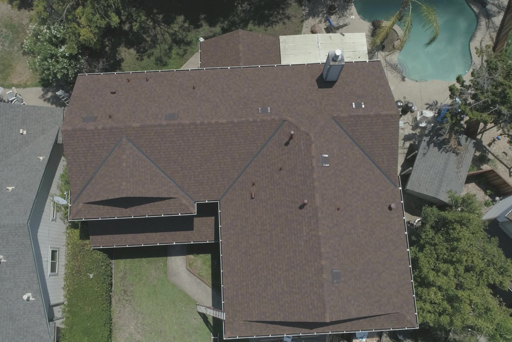 Landmark Lifetime Certainteed in Heatherblend Roofing Project in Roseville, CA - Bob Jahn's Roofing in Roseville