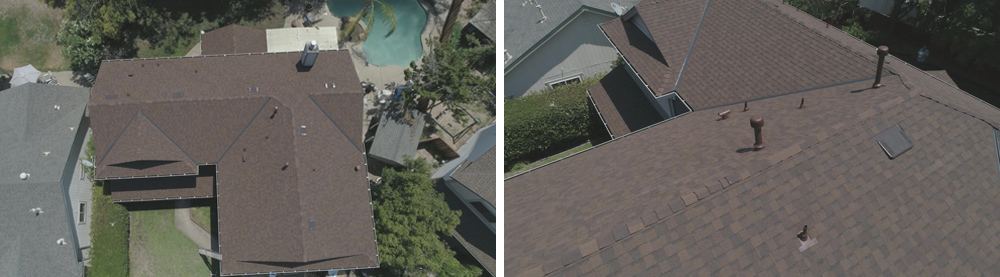 Landmark Lifetime Certainteed in Heatherblend Roofing Project in Roseville, CA - Bob Jahn's Roofing in Roseville - After Completion